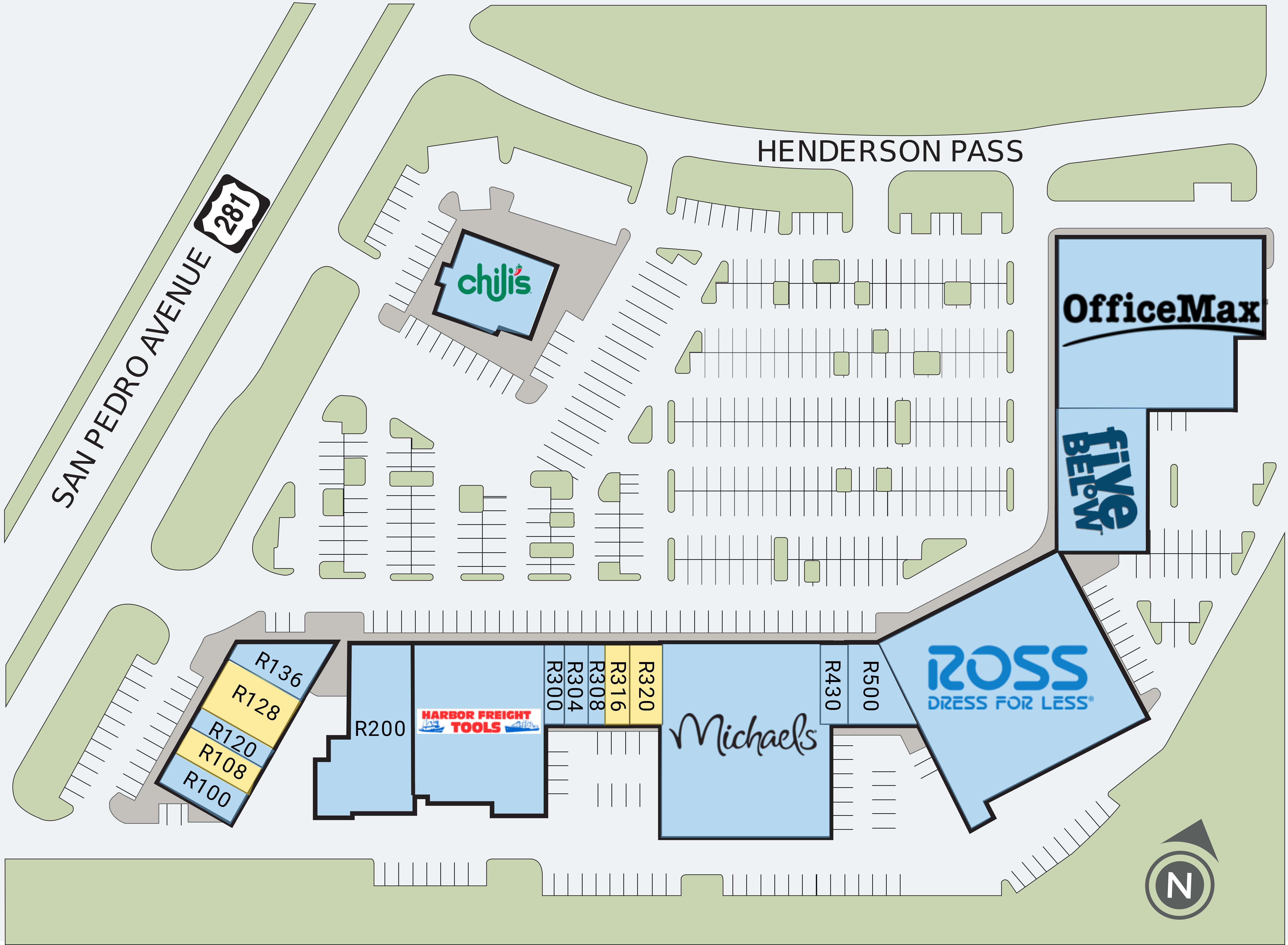 San Antonio Tx Arbor Park Retail Space For Lease